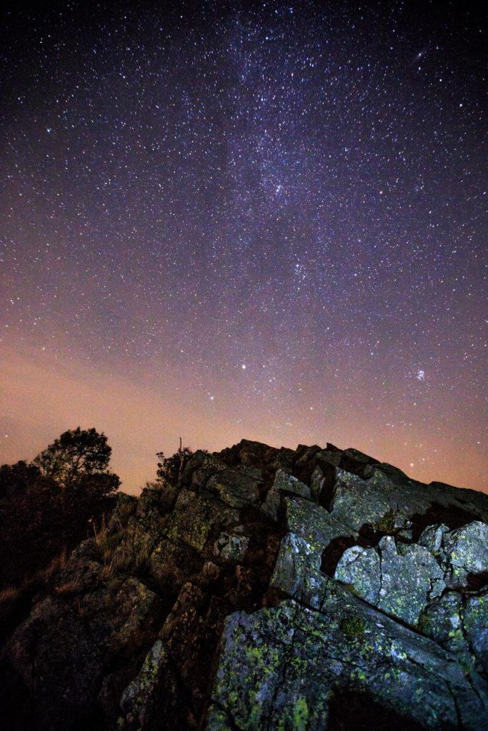 Sternenhimmel Milseburg Rhön