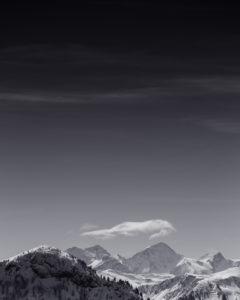 Berge, Schnee