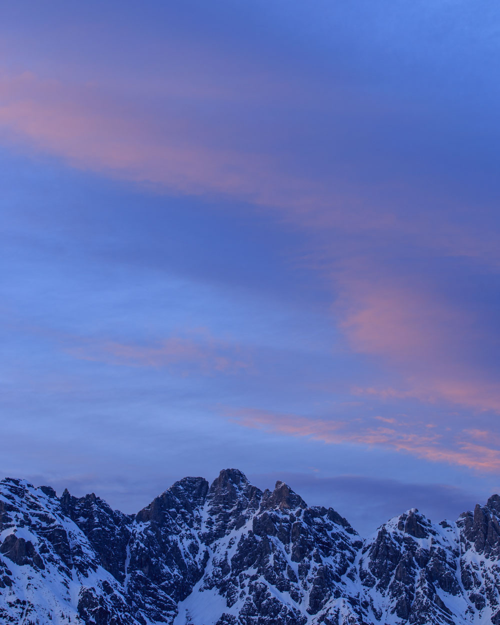 Berge, Sonnenuntergang, Tirol