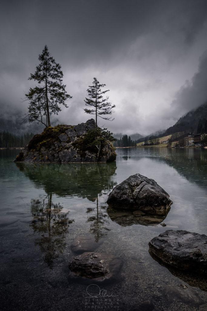 Hintersee Berchtesgadener Land Herbst