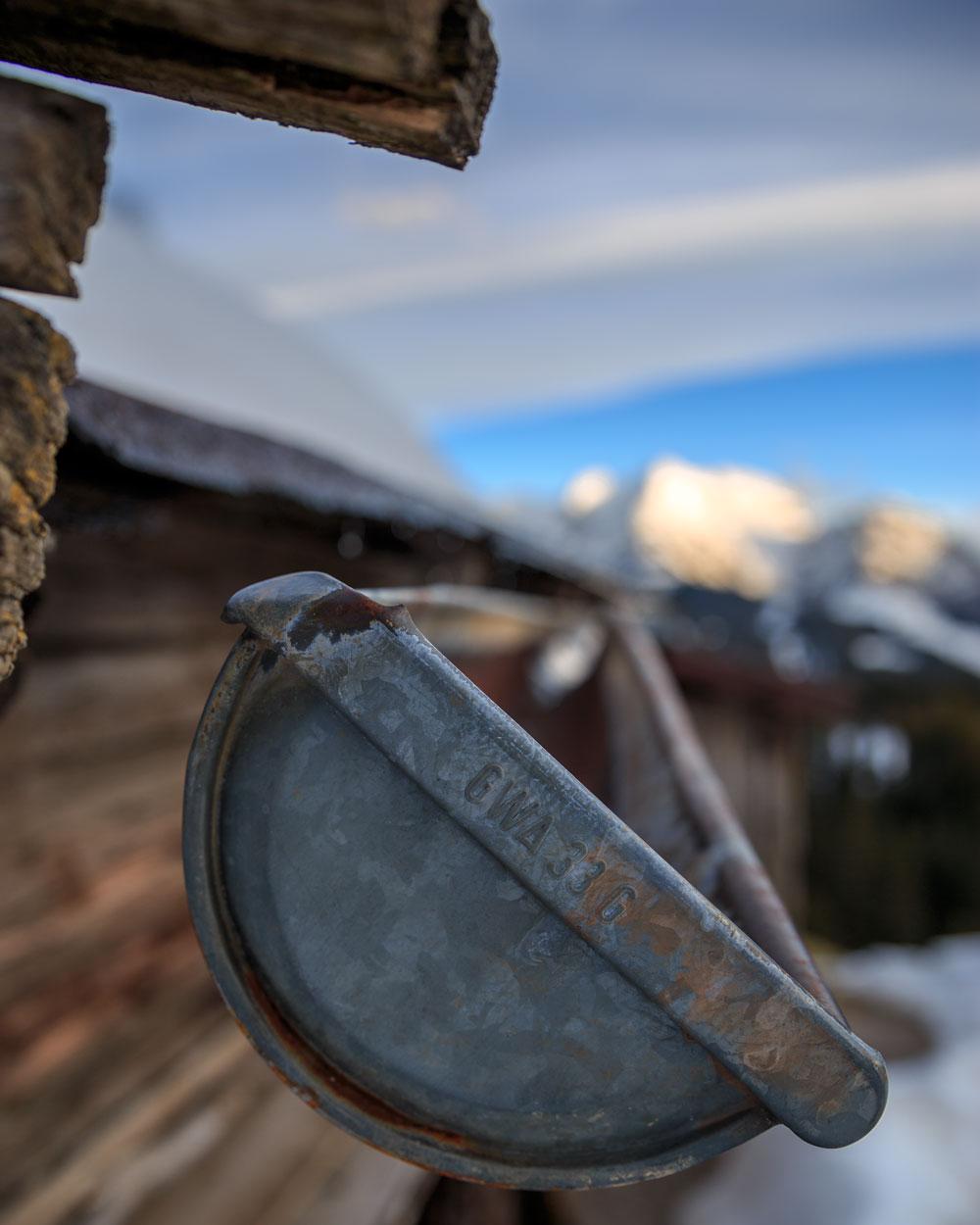 Alm, Regenrinne, Tirol