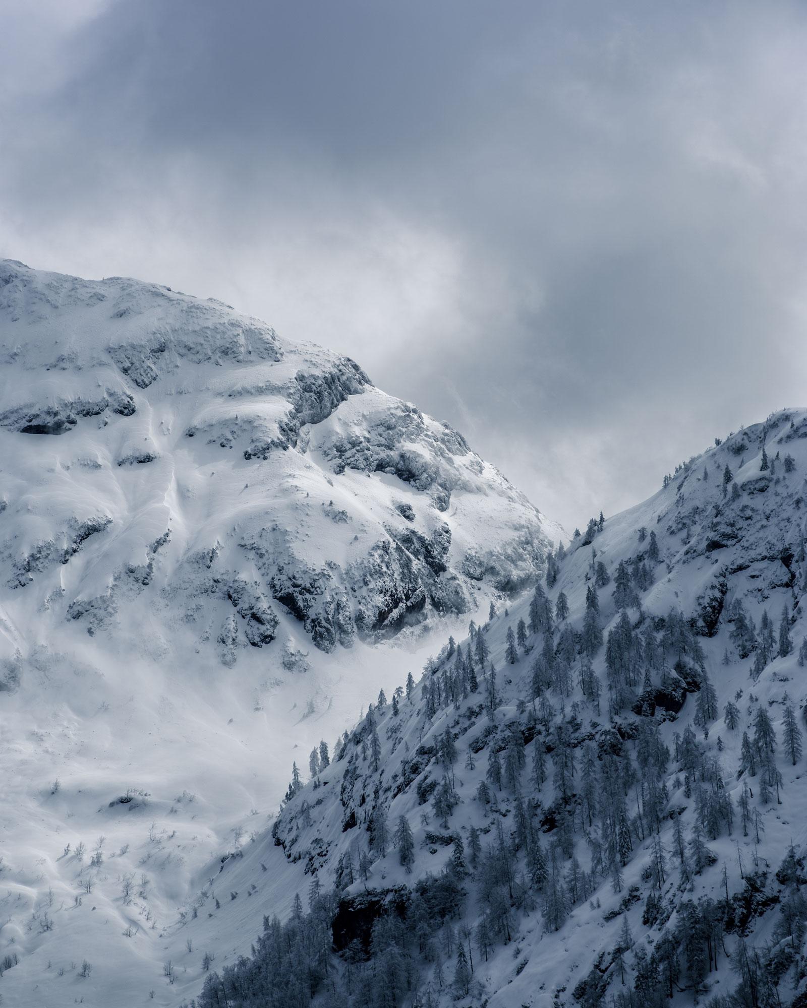 Berge, Schnee, Tirol