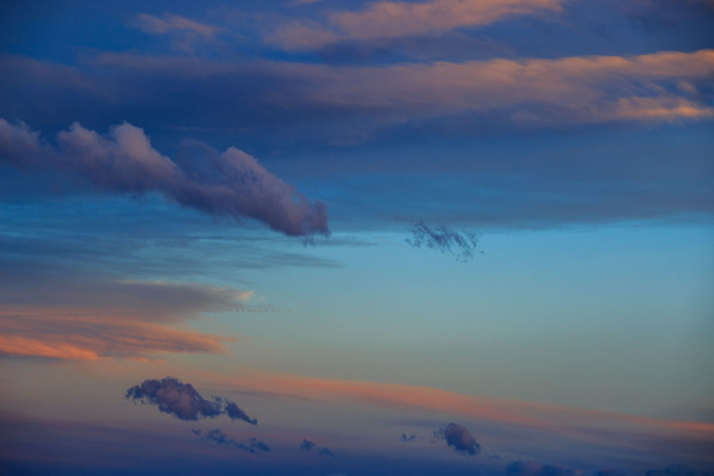 Himmel, Sonnenuntergang