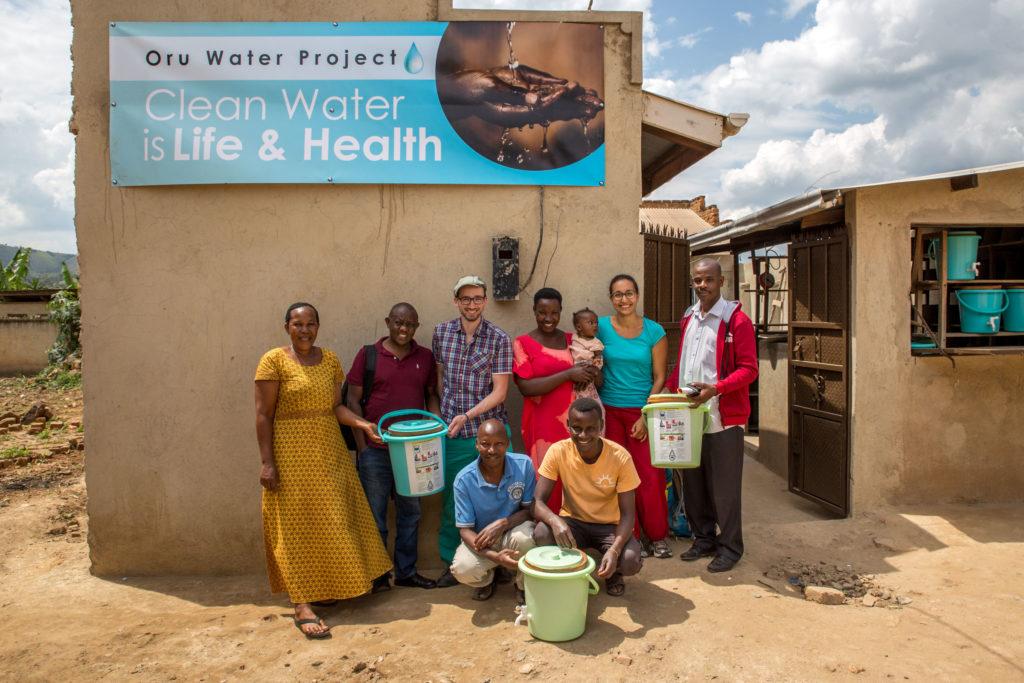 OruWater Entwicklungshilfe-Projekt