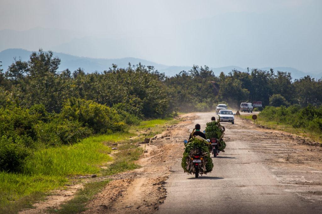 Uganda Straßen Entwicklungshilfe