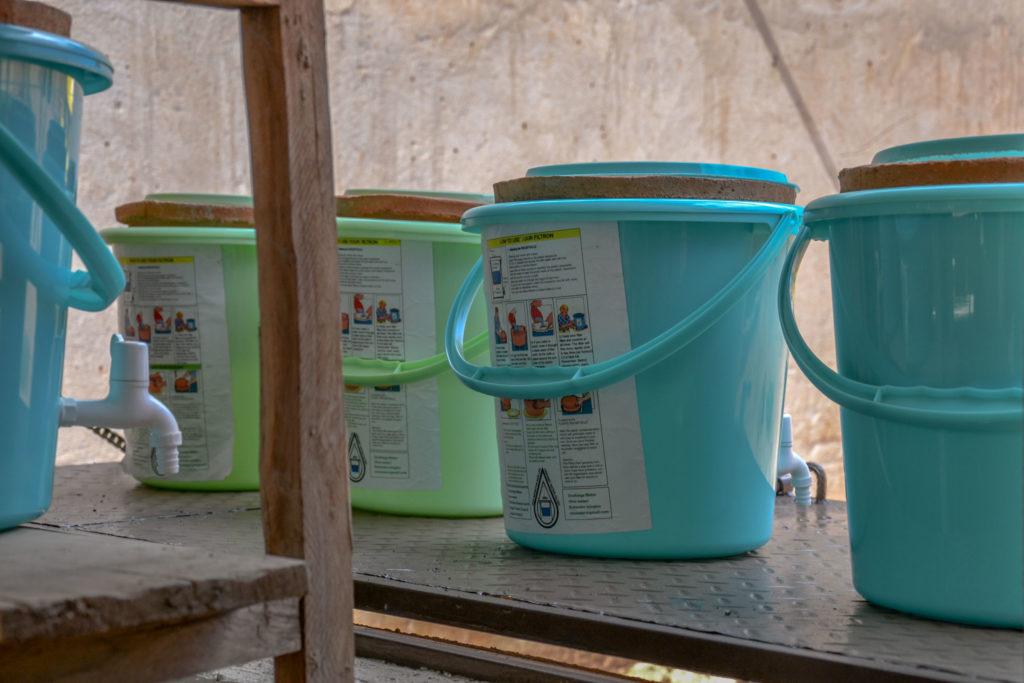 Wasserfilter fertig zum Verkauf
