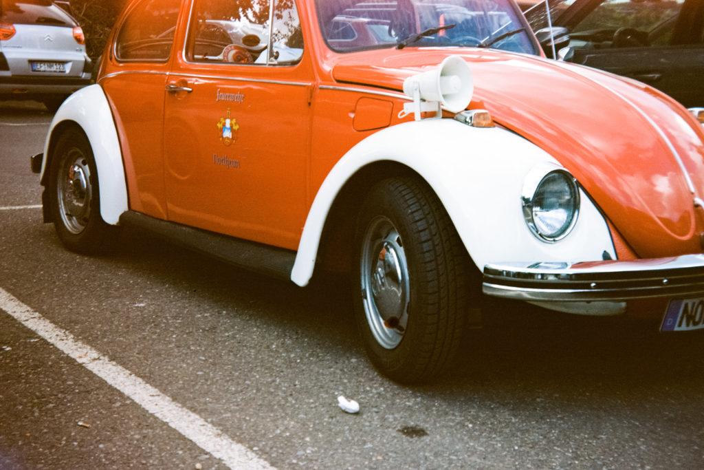 Analoge Aufnahme VW Käfer
