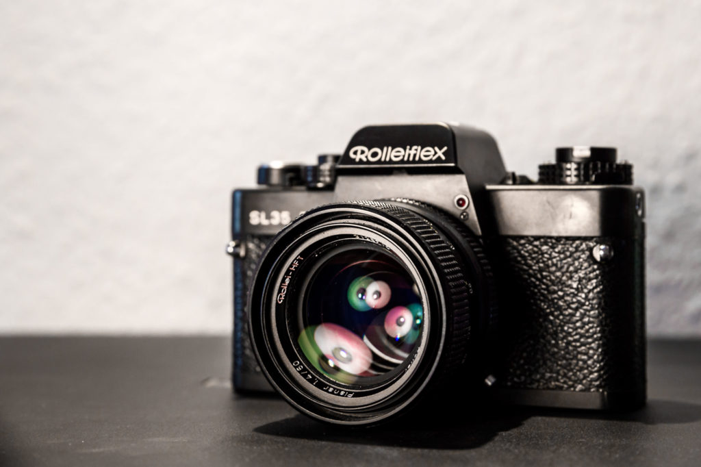 Analoge Kamera Rollei SL35