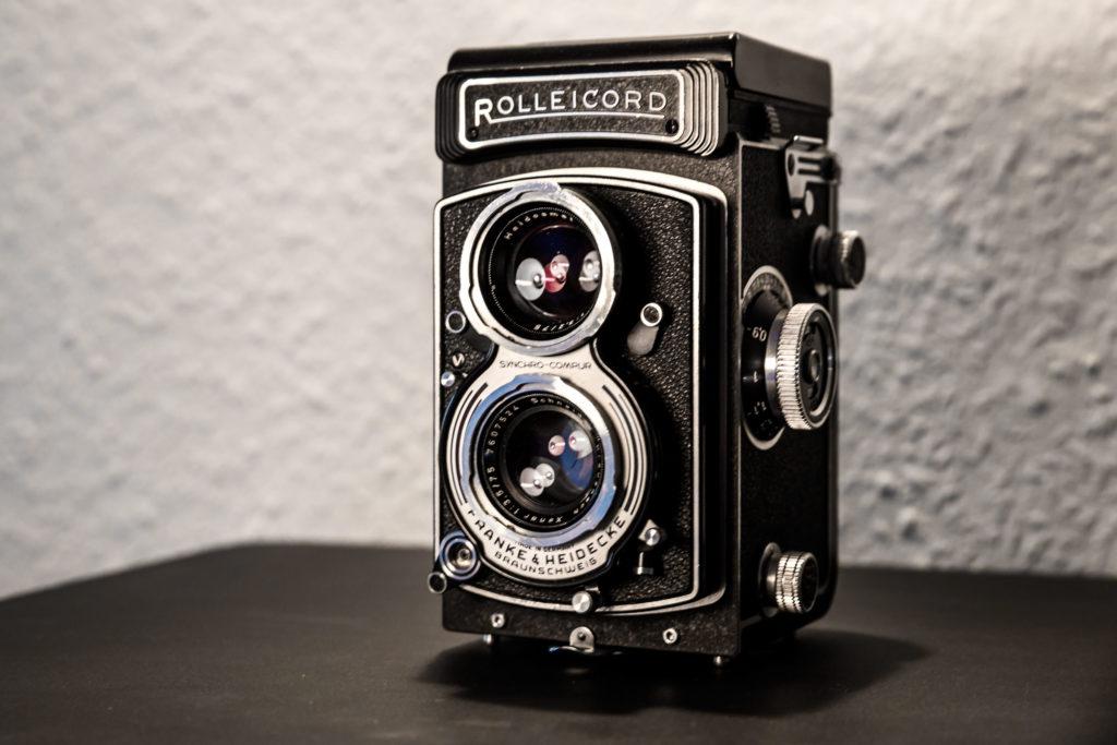 Analoge Kamera Rolleicord Vb