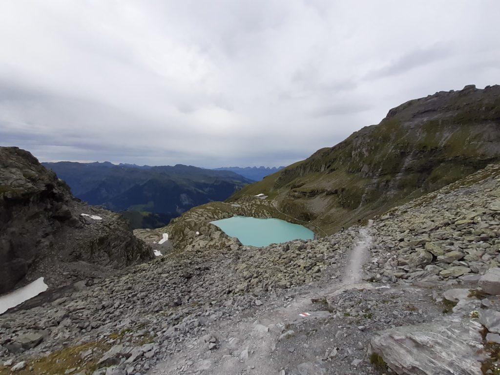 Schottensee Abstieg 5 Seen Wanderung