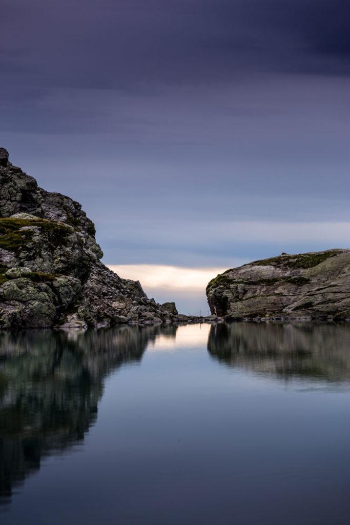 Reflektrion Schottensee Pizol 5 Seen Wanderung