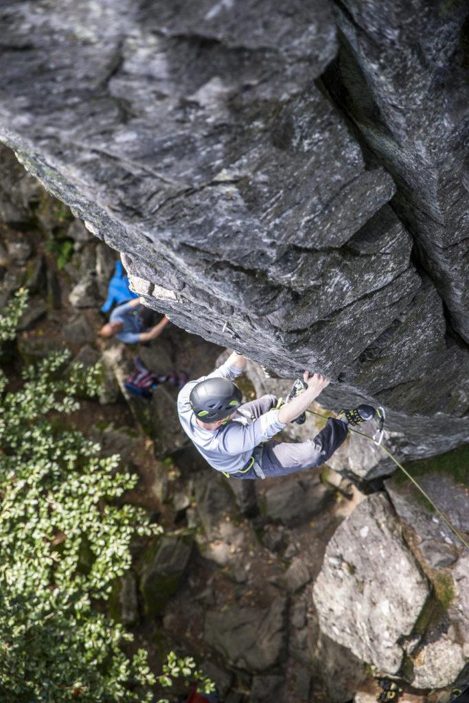 Pfeiler Steinwand Rhön Klettern