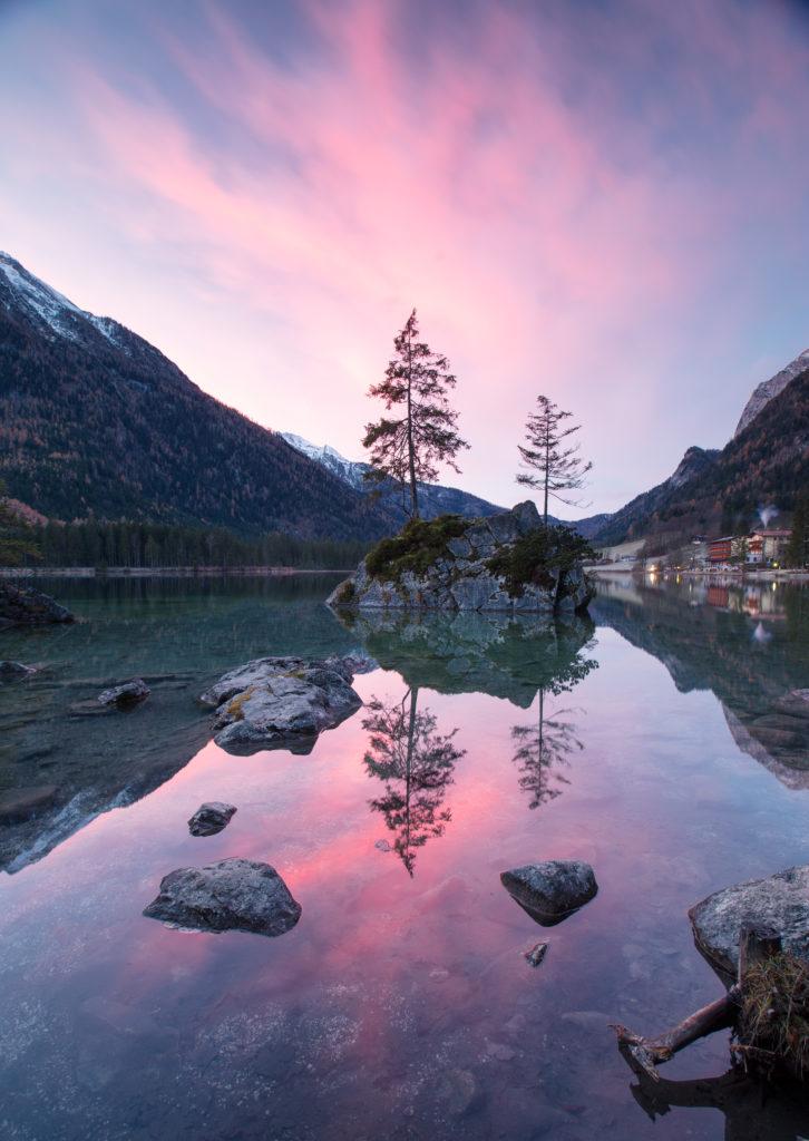 Hintersee Sonneaufgang Herbst