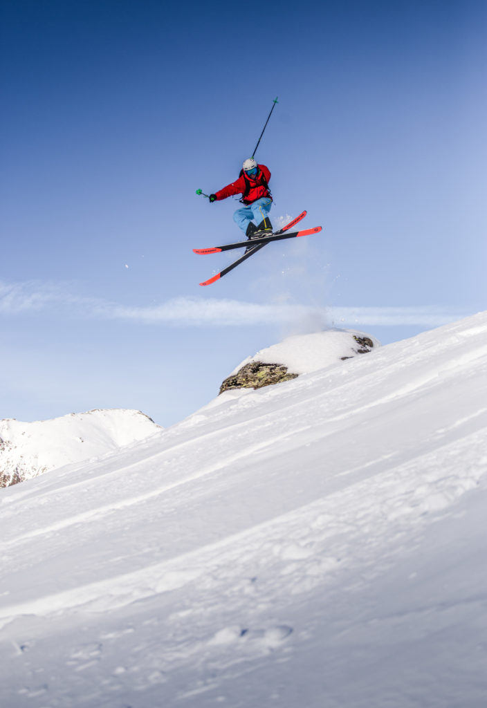Ski Sprung Sportfoto