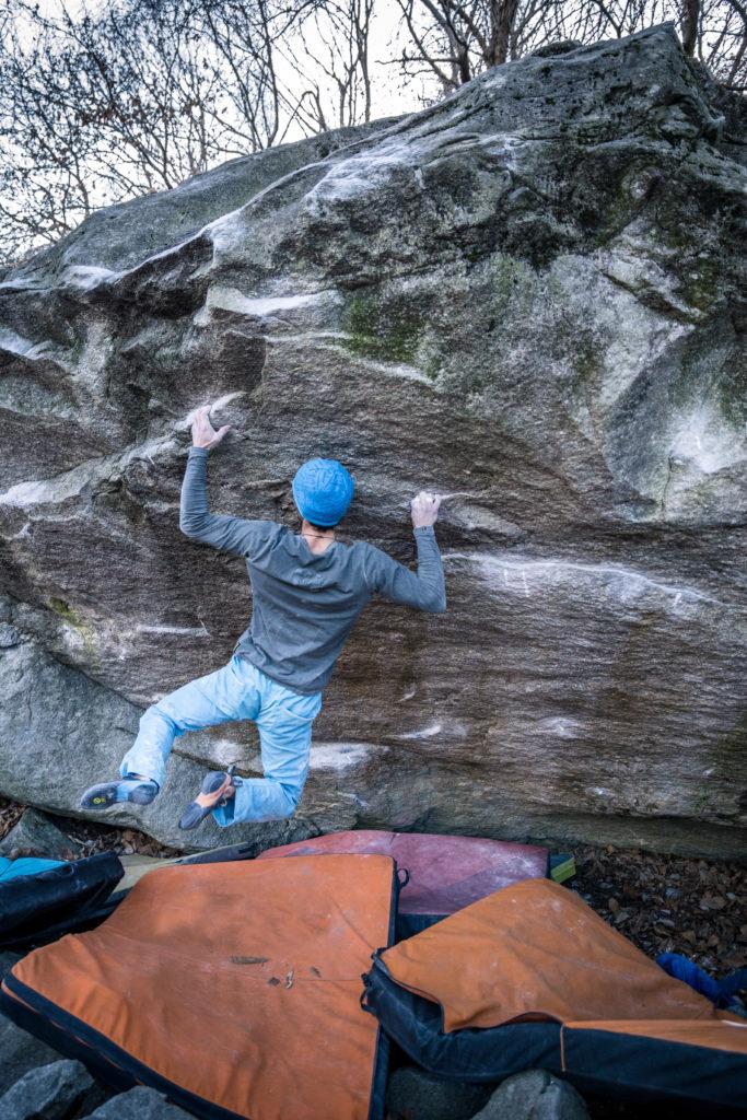 Alex Rohr Chironico Boulder