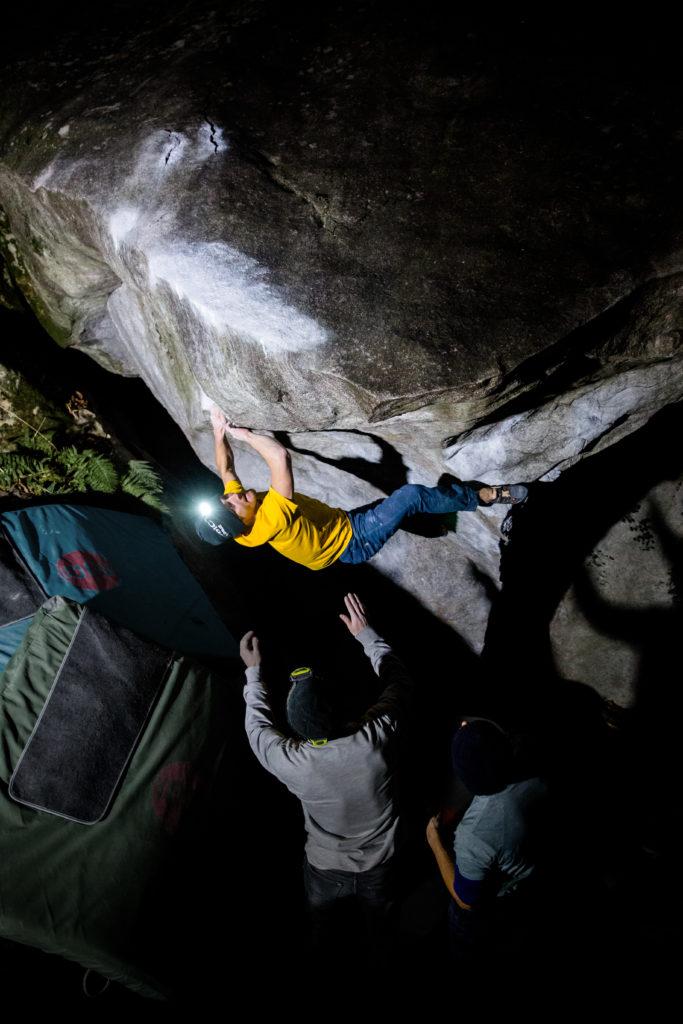 Sportfotografie - Bouldern und Klettern Christoph Rauch