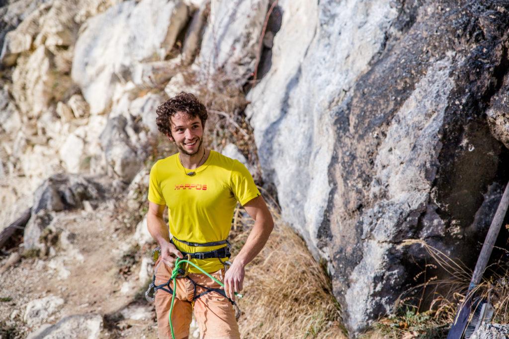 Alex Rohr Portrait Sportkletterprofi
