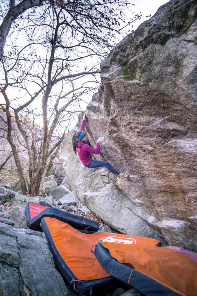 Rose Tessin Bouldern