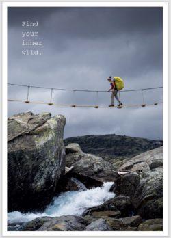 Hardangervidda Postkarte