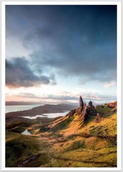 Old Men of Storr Postkarte